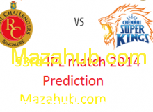 CSK vs RCB prediction