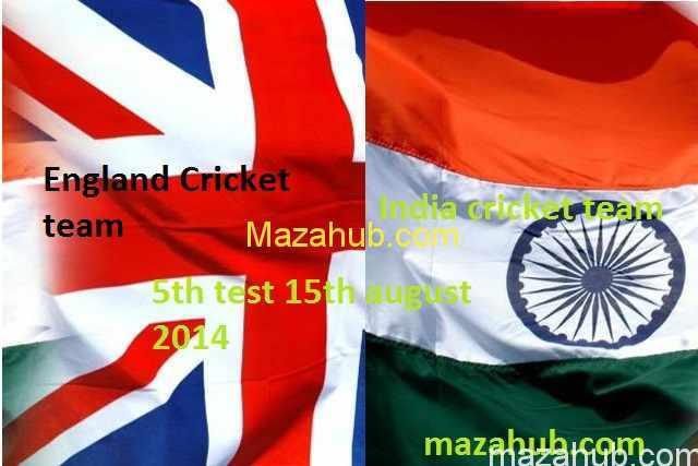 England vs India 5th Test