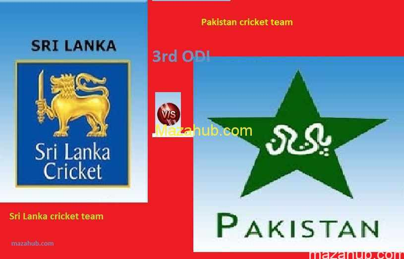 Pakistan vs Sri Lanka 3rd ODI
