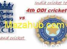 India vs England 4th ODI
