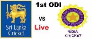 India vs Sri Lanka 1st ODI